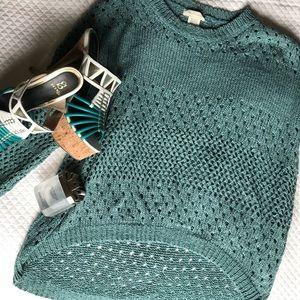 Sweaters - High low Crochet sweater